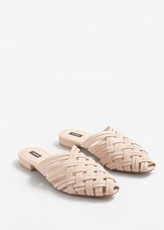 Zapato destalonado piel - Zapatos de Mujer | MANGO 36€ España