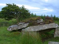 bestpicturegallery.com - web's best pictures - travel and nature pictures: Photography, Ireland, dolmen, ancient burial site picture