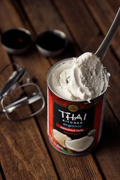 How-to Make Whipped Coconut Cream - Step-By-Step Tutorial by Tasty Yummies, via Flickr Life changing.