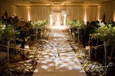 Transforming A Space: Turning a ballroom from meeting room to wedding venue