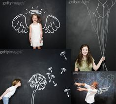 4 easy places to take fantastic photos, #4: in front of a chalkboard or whiteboard