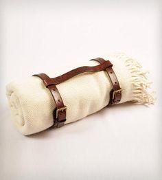 Hand-Spun Llama Wool Throw Blanket - Solid by Patron Design  on Scoutmob Shoppe #dreamweekender