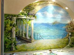 Роспись стен