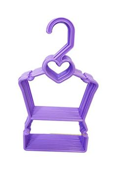 My Brittany's Lavendar Heart Hanger for 18 Inch Doll Clothes Fits Compatible with American Girl Doll Clothes Doll Clothes Hangers, Girl Doll Clothes, Girl Dolls, Kids Scooter, Baba, Mermaid Birthday, 18 Inch Doll, Brittany, American Girl