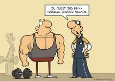 SPAM Cartoons Fitte Bilder - DER SPIEGEL Sport Motivation, Spiegel Online, Fun Workouts, Workout Fun, Am Meer, Yoga, Family Guy, Comics, Memes