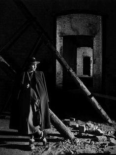 Alida Valli in publicity still for The Third Man (1949, dir. Carol Reed)