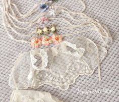 ISABELLA Lace Set Baby Girl outfit Newborn by ZorayaBabyProps