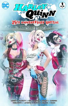 cab9fc2e3ab HARLEY QUINN 25th ANNIVERSARY  1 CMS Exclusive by Natali Sanders Colour  Variant Harley Costume