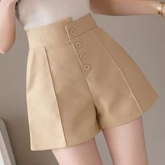 Looks Com Short, Formal Shorts, Moda Formal, Date Outfits, Long Pants, Sewing Clothes, Short Dresses, Color Black, Mini Skirts