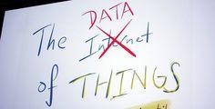 Интернет вещей - это новый способ получить данные. Нужно делать новые полезные сервисы, которые помогут принимать решения