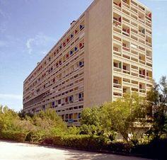 La unidad habitacional de Marsella, Le Corbusier.