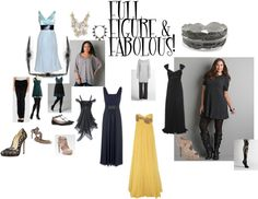 Full Figure & Fabolous, created by shaley1 on Polyvore