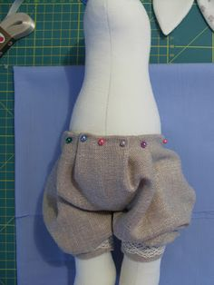 Part 3. Dress bunny. How to sew a dress?