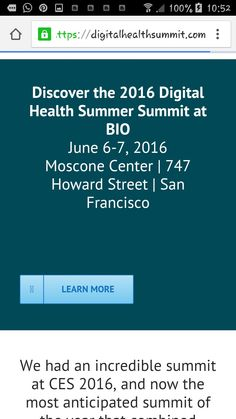 Digital health summer