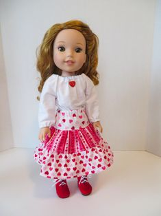 Sew clothes for your Wellie Wishers American Girl doll with easy patterns from Oh Sew Kat!  Visit www.ohsewkat.com.  #ohsewkat #18inchdollclothes #welliewishers #westernwear