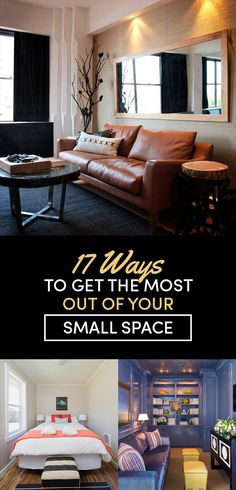 17 Ways To Make A Small Room Feel So Big