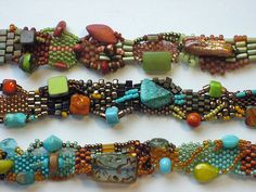 Free Form Peyote Stitch Bracelets | by Cheri C Meyer