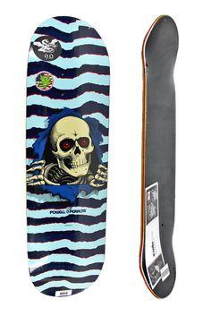 Powell Peralta Ripper Blue Skateboard Deck