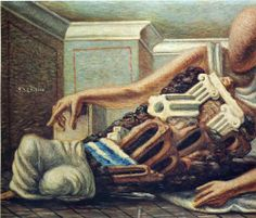 Giorgio de Chirico (1888 - 1978) | Metaphysical Art | Archaeologist