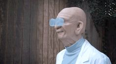 Realistic Cosplay Of Futurama's Farnsworth Is Effin' Terrifying - http://videogamedemons.com/events/realistic-cosplay-of-futuramas-farnsworth-is-effin-terrifying/
