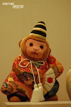 Traditional Edo-Kimekomi Dolls