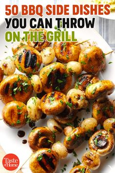 50 BBQ Side Dishes You Can Throw on the Grill Related posts:Gyros RubPizzadillas - the quick and healthy alternative to pizza cooking carouselSouthern Fried Corn Grilled Side Dishes, Side Dishes For Bbq, Camping Side Dishes, Steak Side Dishes, Grilled Vegetables, Grilled Meat, Vegetables On The Grill, Grilled Chicken, Grilled Vegetable Recipes