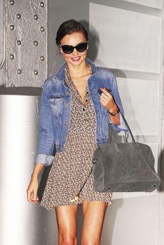Style tracker, Street style - Miranda Kerr
