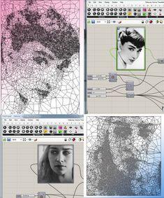 Voronoi Delaunay Tessellation - Grasshopper 9 saves 3 likes Grasshopper Images, Grasshopper Rhino, Rhino Tutorial, 3d Tutorial, Parametric Architecture, Parametric Design, Architecture Diagrams, Architecture Portfolio, Contemporary Architecture