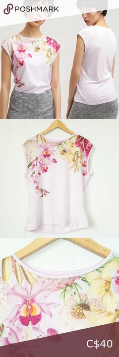Check out this listing I just found on Poshmark: Ted Baker 'Catlee' Floral Print Tank Pink Size 2. #shopmycloset #poshmark #shopping #style #pinitforlater #Ted Baker #Tops