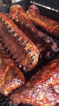 Barbecue Ribs on www.virginiawillis.com