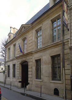 Paris III - rue Elzevir n°8 - Hôtel de Donon