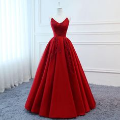 High Quality Silk Satin 2019 Modest Prom Dresses Long Red Wedding Evening Dress Floral Tulle Women Formal Party Gown Bride Gown Corset Back High Quality Silk Satin 2018 Modest Prom Dresses Long Red Wedding Evening Dress Floral Tulle Women F Prom Dresses Long Modest, Evening Dresses For Weddings, 15 Dresses, Dress Long, Wedding Dresses, Gown Wedding, Formal Dresses, Evening Gowns, Red Ball Gowns