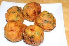 Aloo Bonda/Batata Vada It's a famous easyand delicious Indian appetizer or finger food. These are soft potato mixture inside and