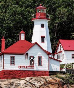 Cape Salmon Lighthouse, Quebec.