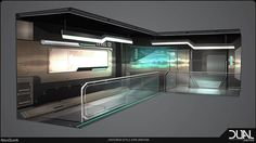 ArtStation - Interior style exploration for Dual Universe - NovaQuark, Emilie Rinna