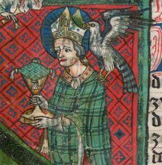 Jacobus : Legenda sanctorum aurea, verdeutscht in elsässischer Mundart [u.a.] 1362  Cgm 6 Folio 18