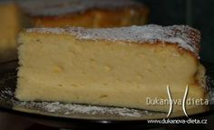 Tvarohový dort II Dukanova dieta Low Carb Recipes, Healthy Recipes, Healthy Food, I Foods, Sweet Tooth, Paleo, Food And Drink, Yummy Food, Sweets