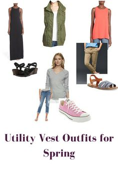 bybmg: Utility Vest Outfits for Spring