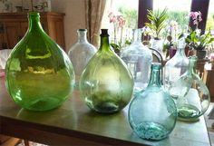 vase dame jeanne en verre bleu skadi maisons du monde mdm atlantique pinterest vase. Black Bedroom Furniture Sets. Home Design Ideas