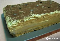 Tiramisu, Ham, Cake Recipes, Goodies, Food And Drink, Cooking Recipes, Yummy Food, Sweets, Dishes
