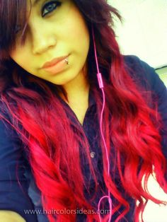 bright-red-hair... Those days are over for me but this girl if rocking it !