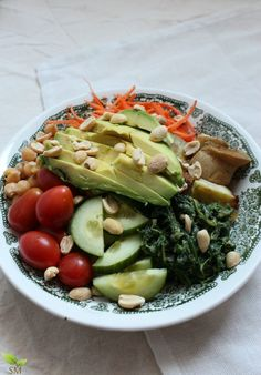 Vegetarian Power Bowl- A vitamin packed treat that is easy to make and delicious year-round- Scratch Mommy