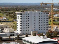 Bunbury, Western Australia, wheat silos converted to residential apartments