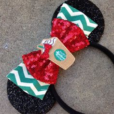 starbucks christmas inspired mouse ears