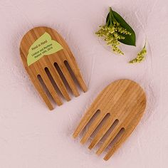 """""""Hand in Hand"""" Bamboo Server Set"""