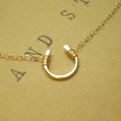 Tiny Luck Necklace / Beau