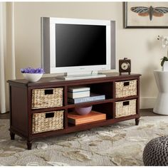 online shopping for Safavieh American Homes Collection Rooney Distressed Black Entertainment Unit from top store. See new offer for Safavieh American Homes Collection Rooney Distressed Black Entertainment Unit Furniture Deals, Online Furniture, Low Profile Tv Stand, Kids Tv Stand, Living Room Furniture, Living Room Decor, Decor Market, Tv Decor, Home Decor