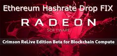 Ethereum DAG Hashrate Drop FIX – AMD Official Mining Drivers Are Now Out  #AMD #Official #MiningDrivers #Ethereum #ETH #Ethash #DAG #DAGepoch #DAGFIX #MiningRig #GPUMining #Siacoin #Decred #DualMining #Hashrate