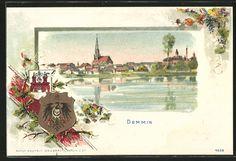 Praege-Lithographie-Demmin-Ortsansicht-Wappen.jpg (583×398)