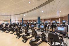 Fitness Center on Harmony of the Seas